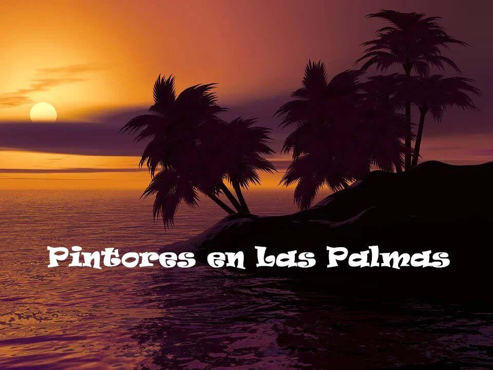 Pintores en Artenara