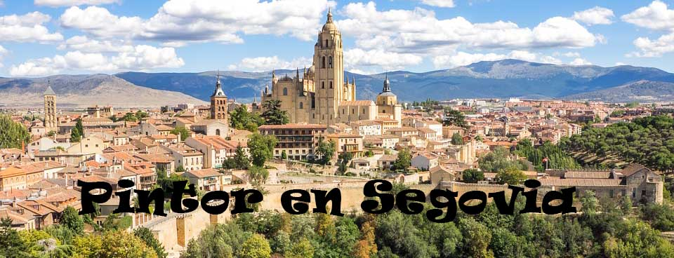Pintores en San Cristóbal de Segovia