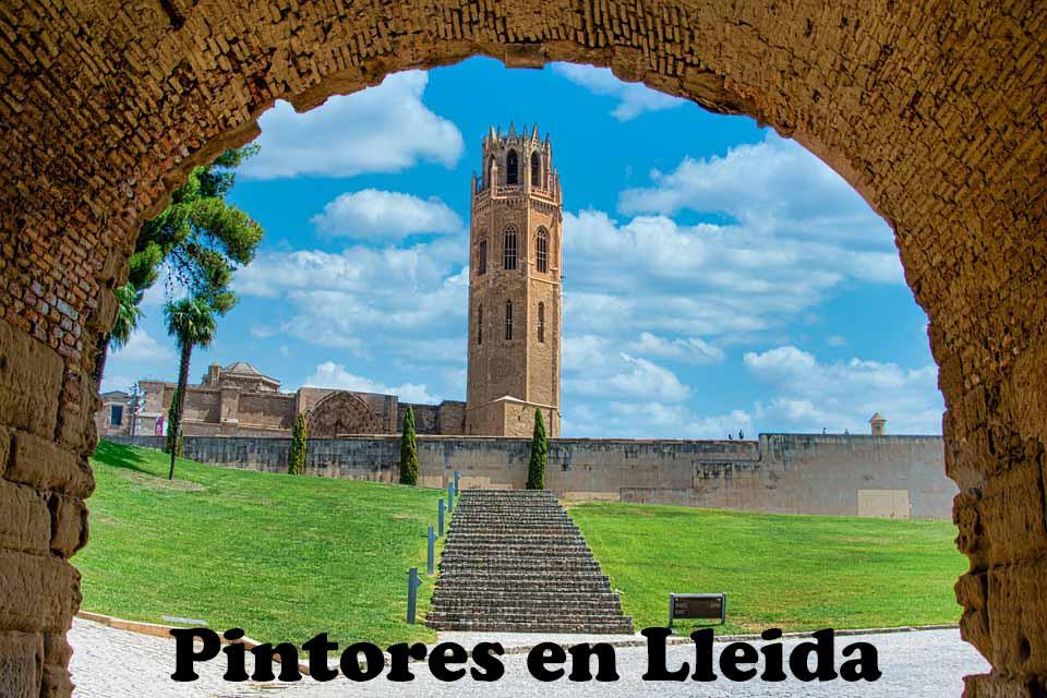 Pintores en Alós de Balaguer