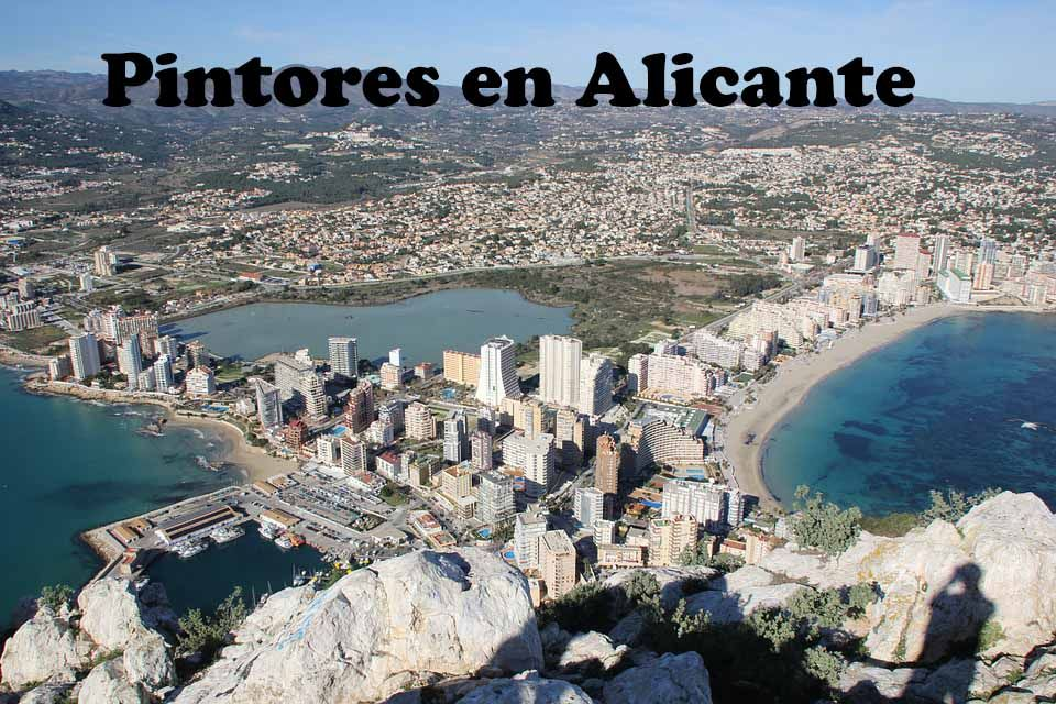 Pintores en San Juan de Alicante